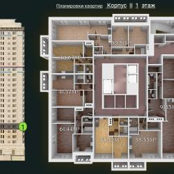 31 КВАРТАЛ КОРПУС 2_1 этаж