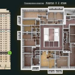 31 КВАРТАЛ КОРПУС 2_2 этаж