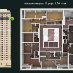 31 КВАРТАЛ КОРПУС 2_20 этаж