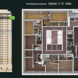 31 КВАРТАЛ КОРПУС 2_21 этаж