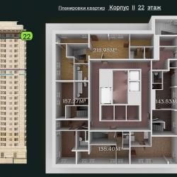 31 КВАРТАЛ КОРПУС 2_22 этаж