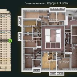 31 КВАРТАЛ КОРПУС 2_9 этаж