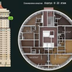 31 КВАРТАЛ КОРПУС 3_20 этаж