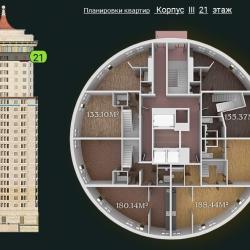31 КВАРТАЛ КОРПУС 3_21 этаж