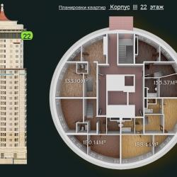 31 КВАРТАЛ КОРПУС 3_22 этаж