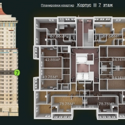 31 КВАРТАЛ КОРПУС 3_7 этаж