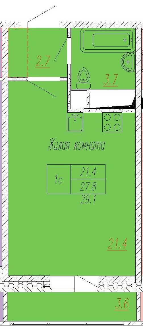 ЖК СПУТНИК_30 корпус_ст_28,8_3,4._.4