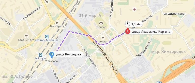 ЖК ОТРАДНЫЙ КОРПУС 11_месторасположения